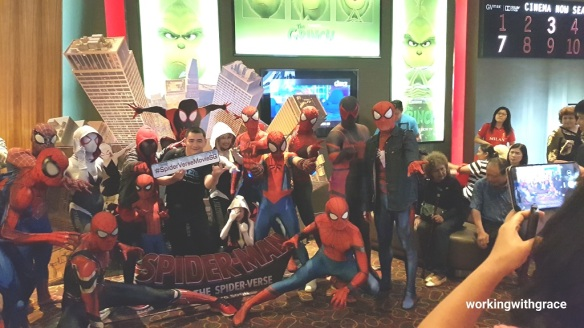 into the spiderverse movie