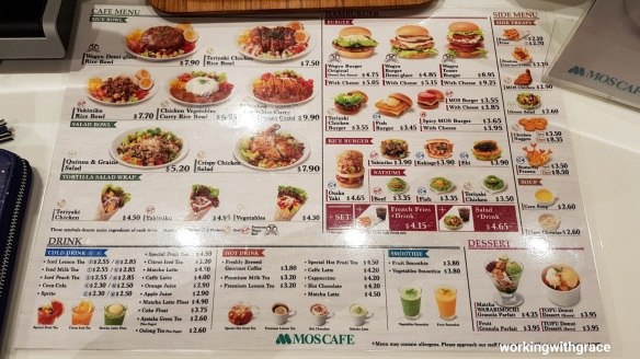 mos cafe menu pricing