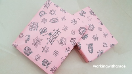 bedok mall christmas wrapping paper
