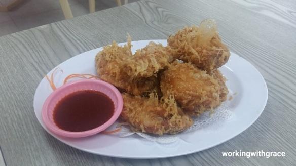 Hong Kong Street Old Chun Kee prawn paste chicken
