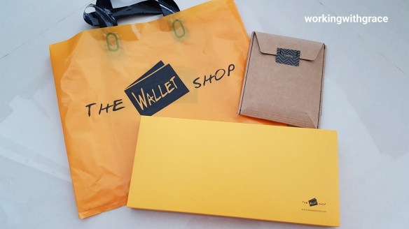 the wallet shop review