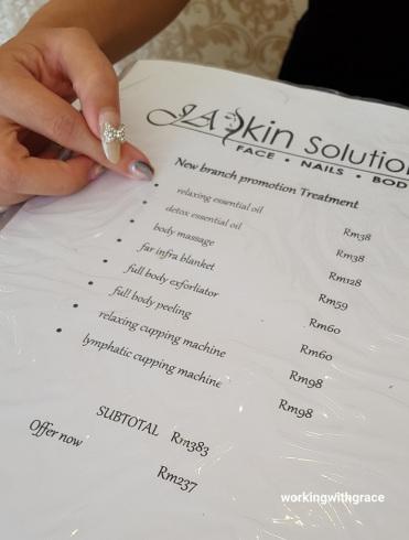 JA Skin Solution pricing