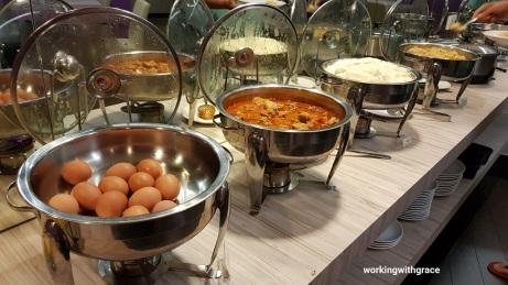 bliss boutique hotel breakfast buffet
