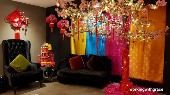 bliss boutique hotel chinese new year decor