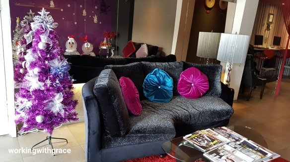 bliss boutique hotel christmas decor