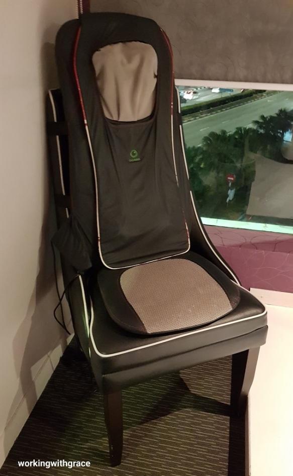 massage chair suite bliss boutique hotel