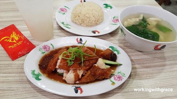 wee nam kee chicken rice set