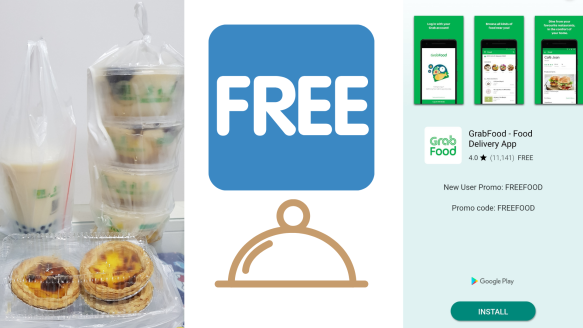 Get $18 Worth Of Free Food With The Grab Food App | Working