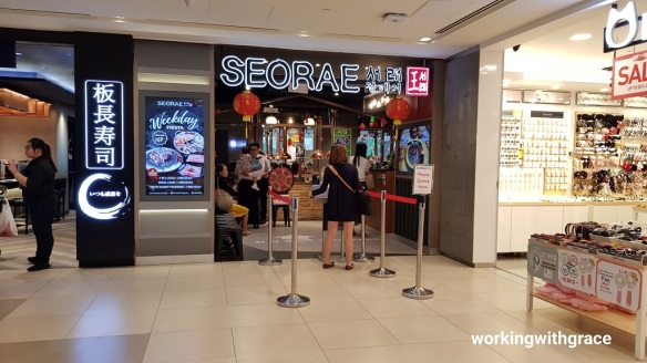 seorae korean charcoal bbq plaza singapura