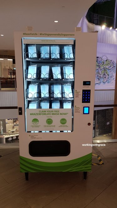razer mask vending machine