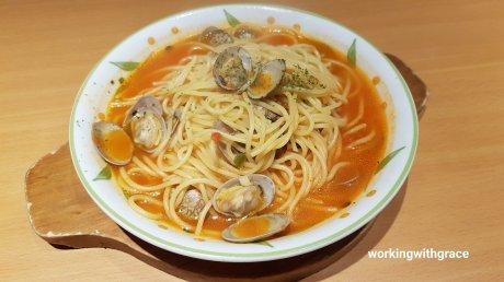 spaghetti vongole saizeriya