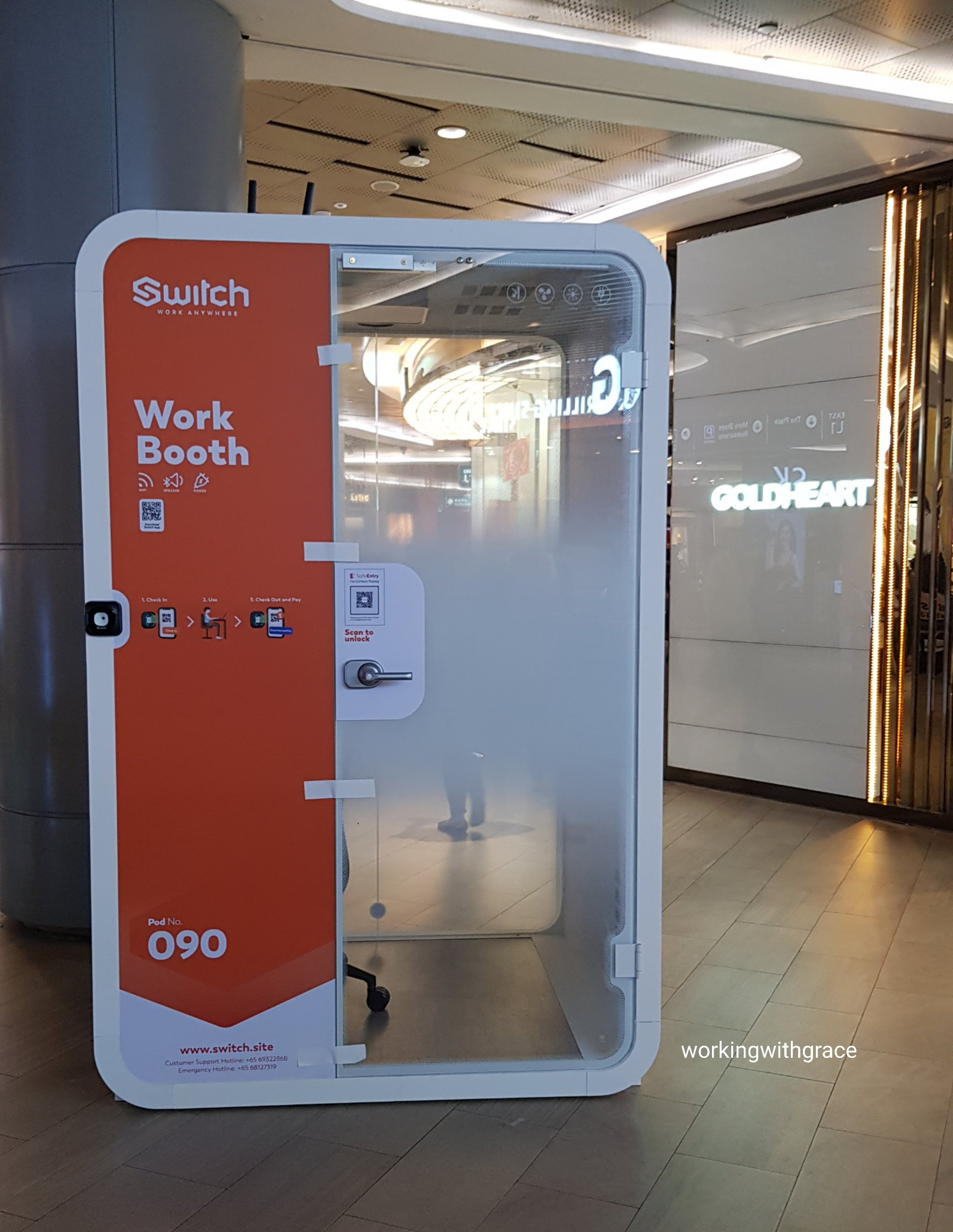 switch work booth