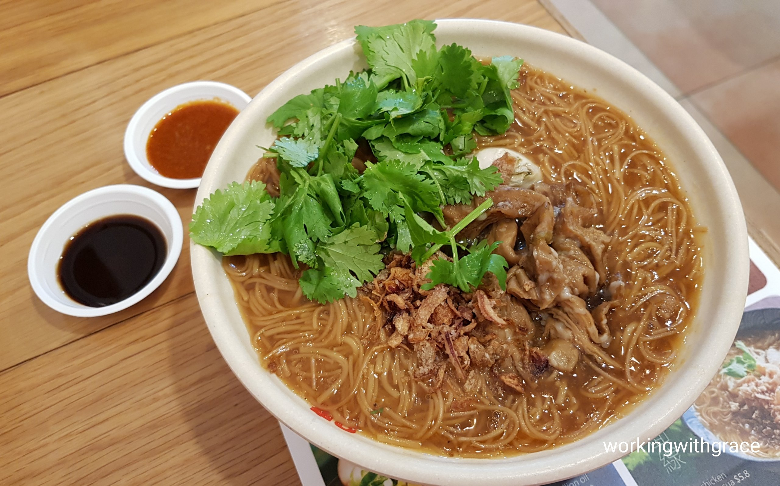 8 degrees taiwanese bistro oyster and chitterling meesua