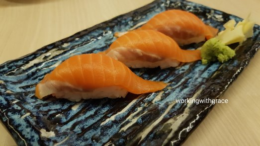 gaku sushi bar king salmon sushi